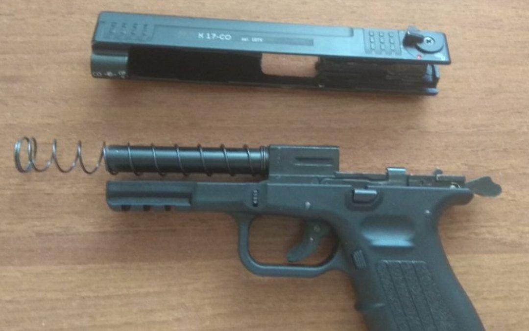 Охолощенный пистолет К17-CO, 10ТК