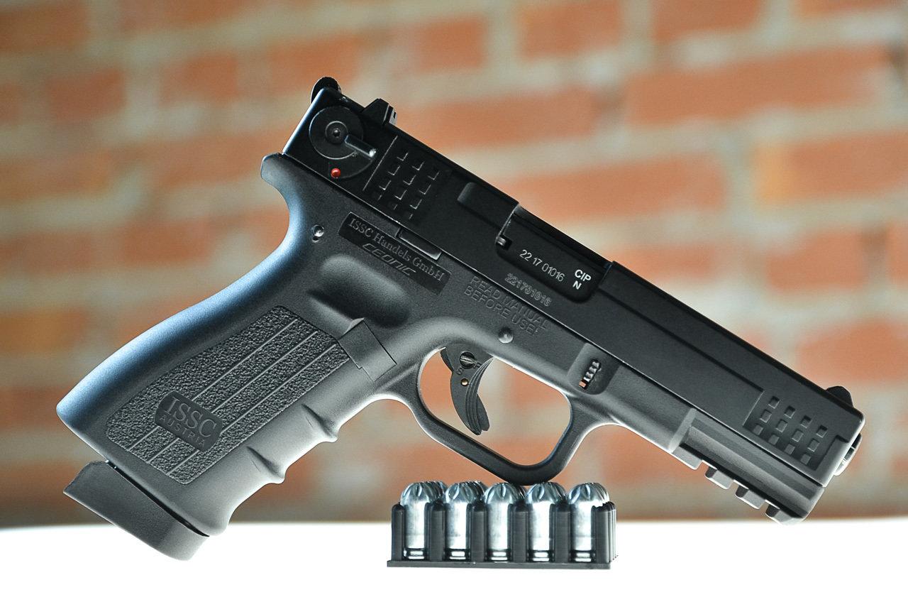 Охолощенный пистолет К17-CO, 10ТК 02261