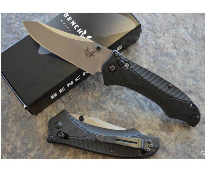 Нож складной Benchmade RIFT, черная рукоять