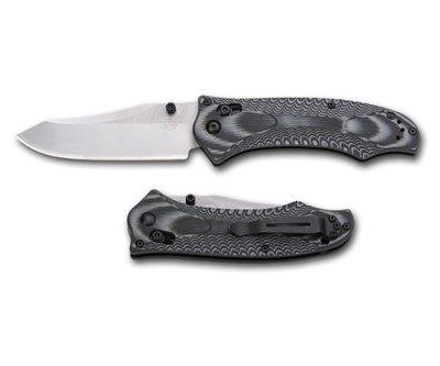 Нож складной Benchmade RIFT, черная рукоять (узор)
