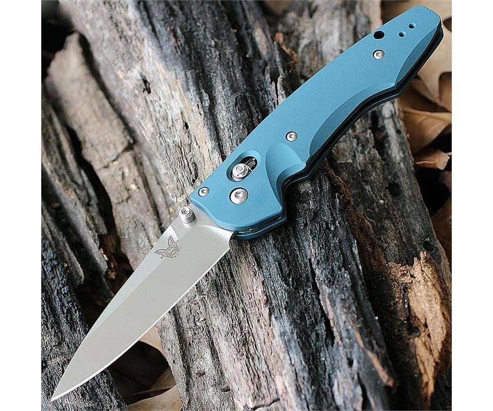 Нож складной Benchmade Emissary, синяя рукоять