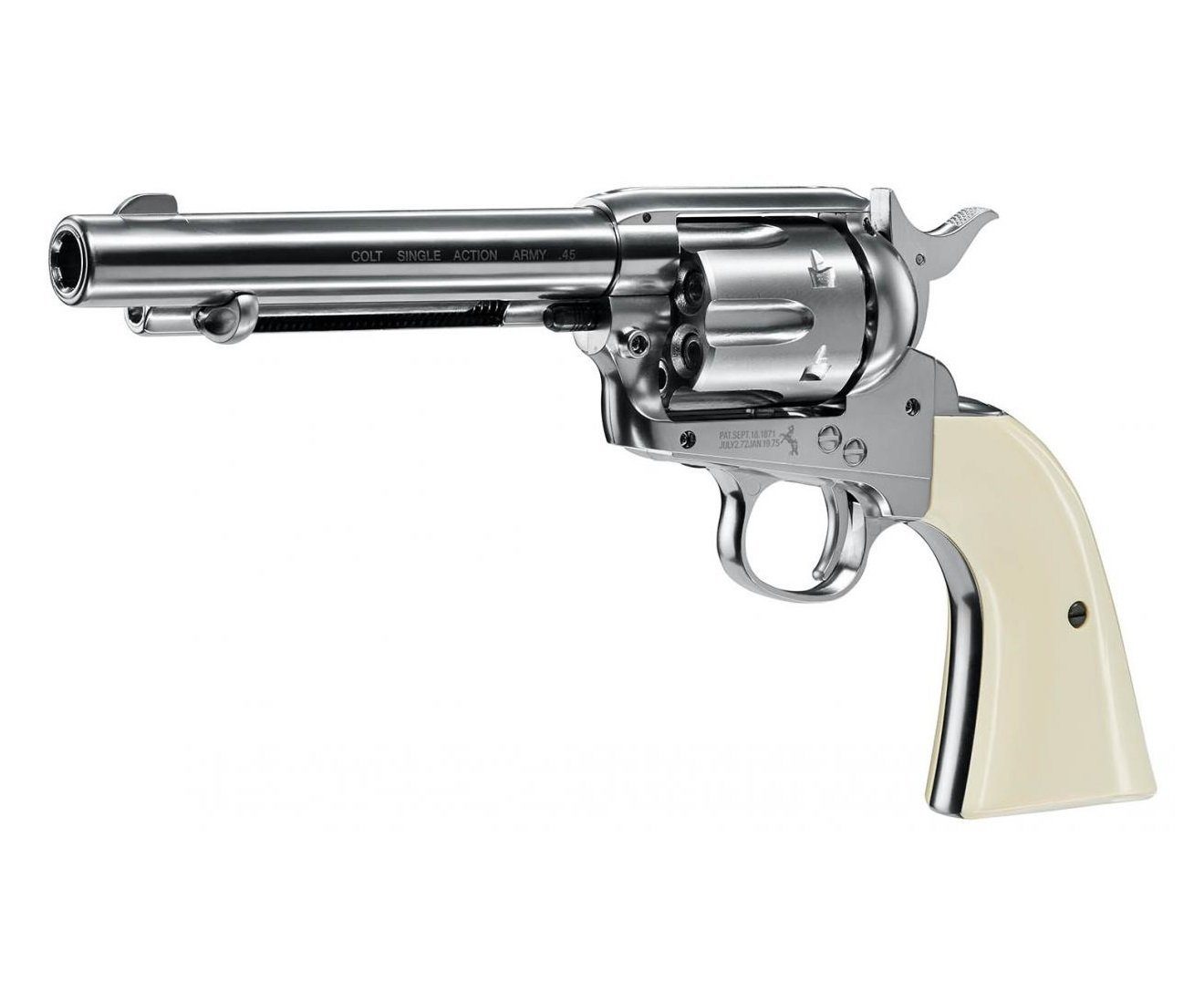 "Револьер Umarex Colt Single Action Army (SAA) .45 Nickel, пулевой (5,5"")"