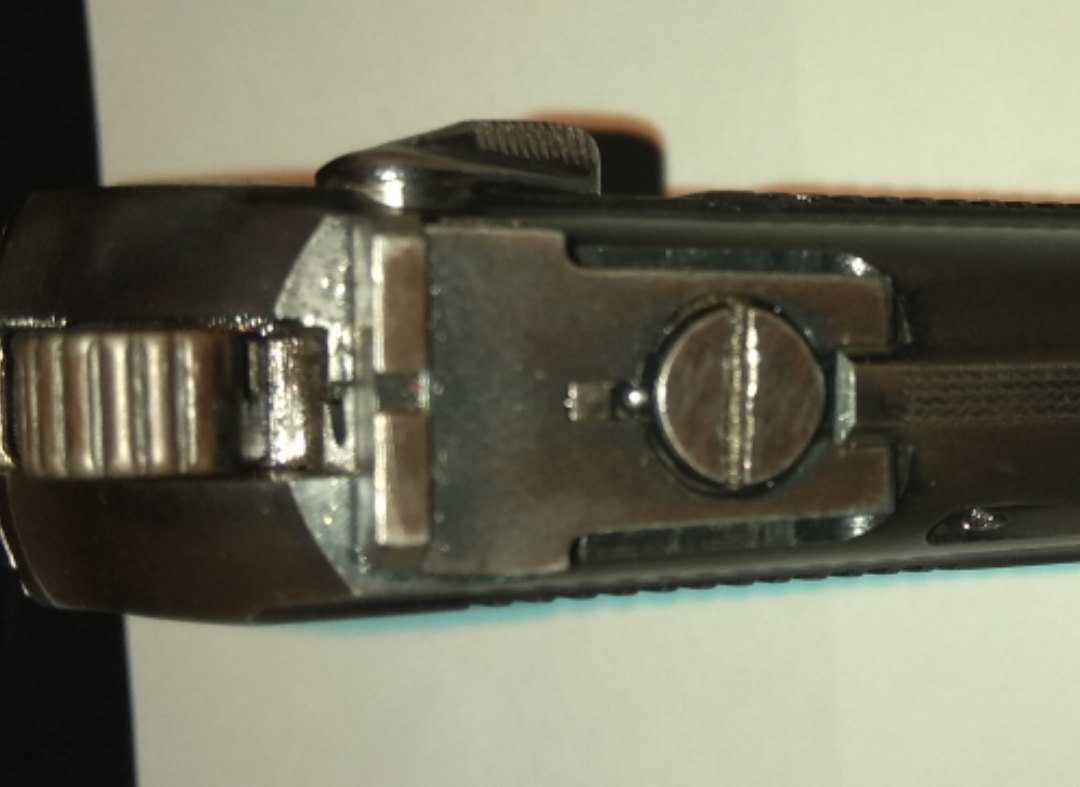 Охолощенный пистолет Макаров-СО мод.71 (Иж-71), 10ТК с регулируемым целиком