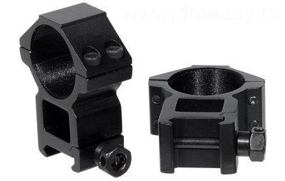 Кольца Leapers 25,4 мм на WEAVER, STM, высокие