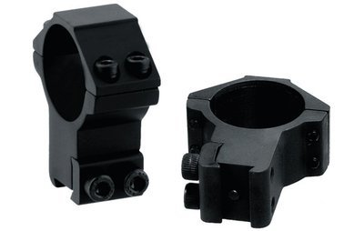 Кольца Leapers 30 мм на призму 10-12 мм, STM, высокие