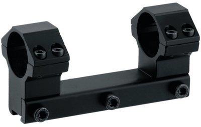 Кронштейн LEAPERS AccuShot с кольцами 25,4 мм, для установки на призму 10-12 мм, высокий