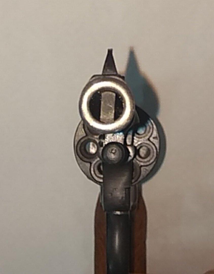 Пистолет охолощенный Р-412 (Наган), 10ТК