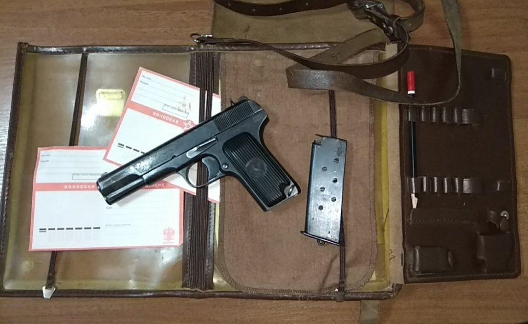 Охолощенный пистолет ВПО-528 (ТТ), 10х31 02441