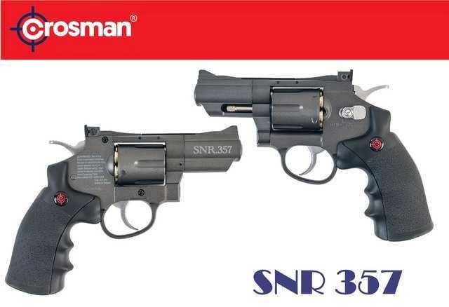 Револьвер Crosman SNR357