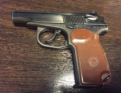 Охолощенный пистолет Макаров-СО мод.71 (Иж-71), 10ТК