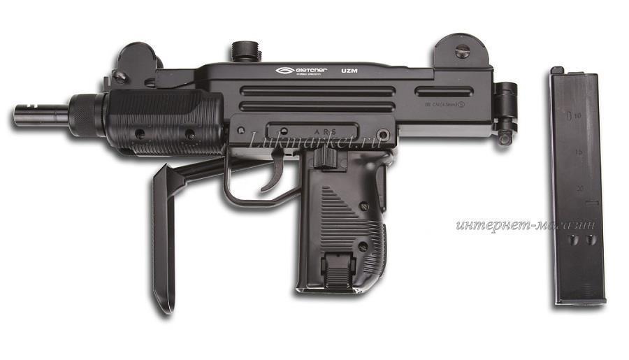 Пистолет-пулемет Gletcher UZM (UZI)