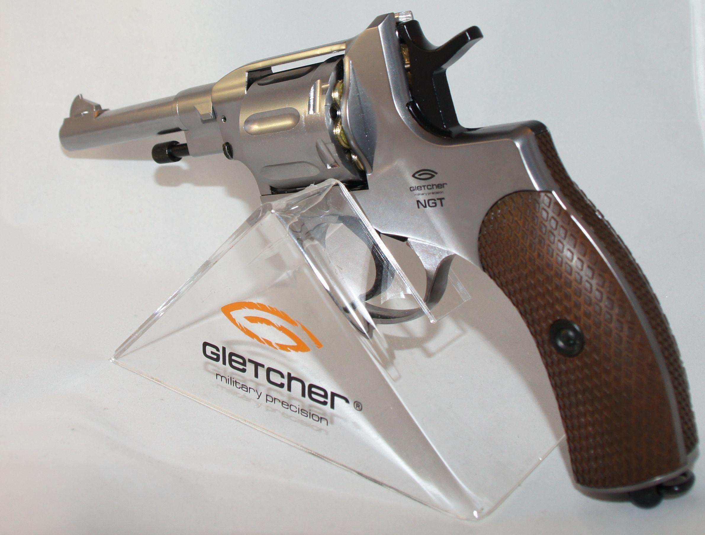 Револьвер Gletcher NGT F Silver