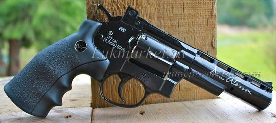 "Пневматический револьвер ASG Dan Wesson 4"" Grey купить"