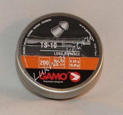 Пули пневматические Gamo TS-10 (200 шт, 4,5 мм, 0,68 г)