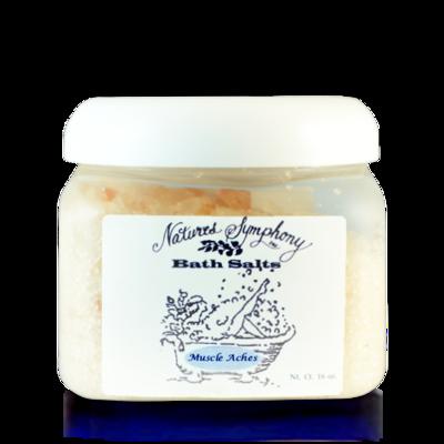 Muscle, Himalayan Bath Salts (16 baths) - 1lb (453g)