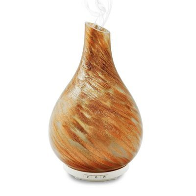 Bliss Aromatherapy Diffuser Gold Glass + 2 FREE 10ml Diffusion Blends