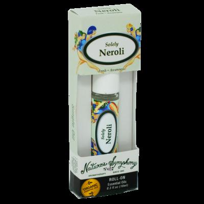 Solely Neroli, Roller Ball, Blend Organic/Wildcraft - 10ml