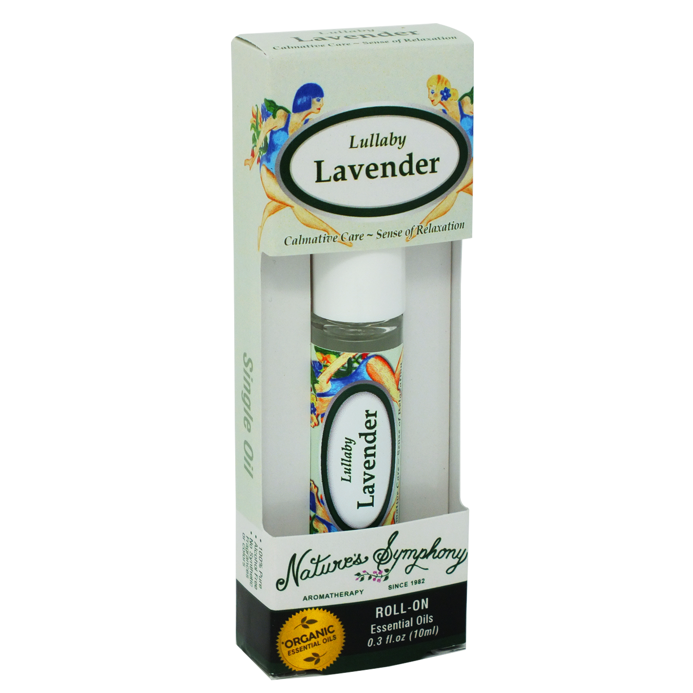 Lullaby Lavender, Roller Ball, Blend Organic/Wildcraft - 10ml