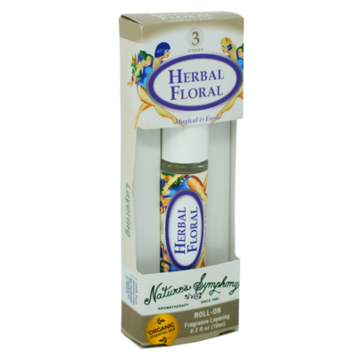 Herbal Blend #3, Roller Ball, Blend Organic/Wildcraft - 10ml