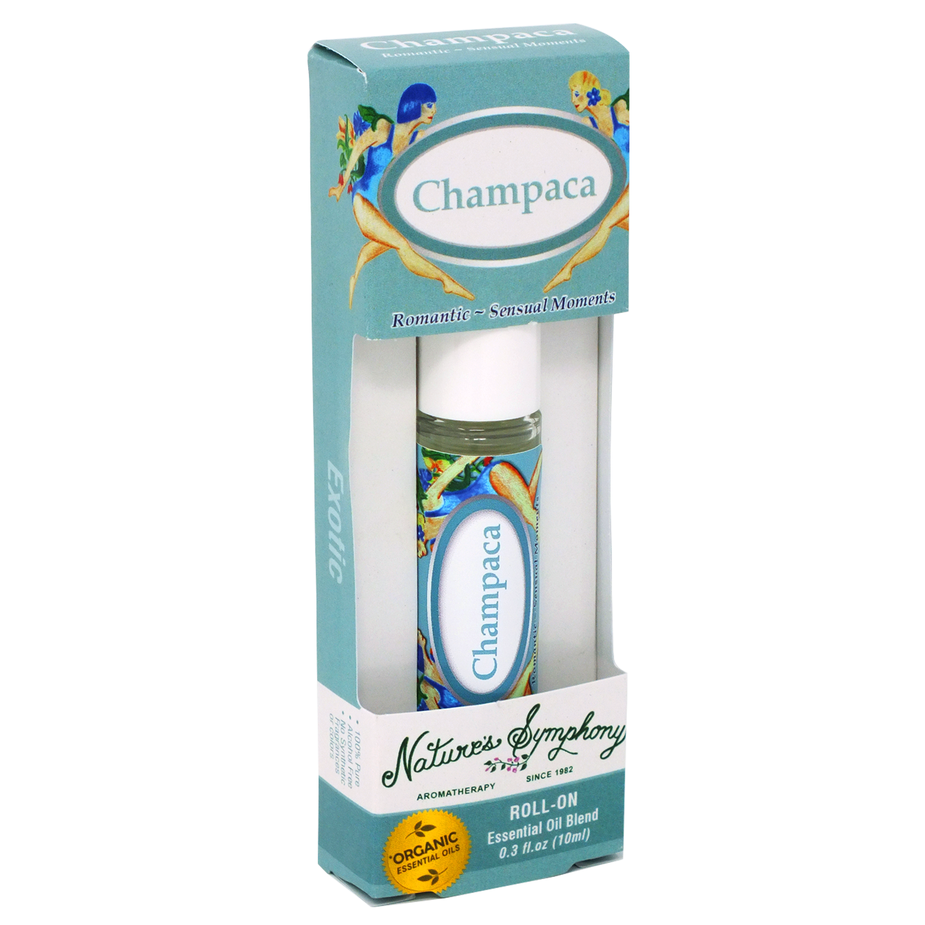 Champaca, Roller Ball, Exotic Organic/Wildcrafted Fragrance - 10ml