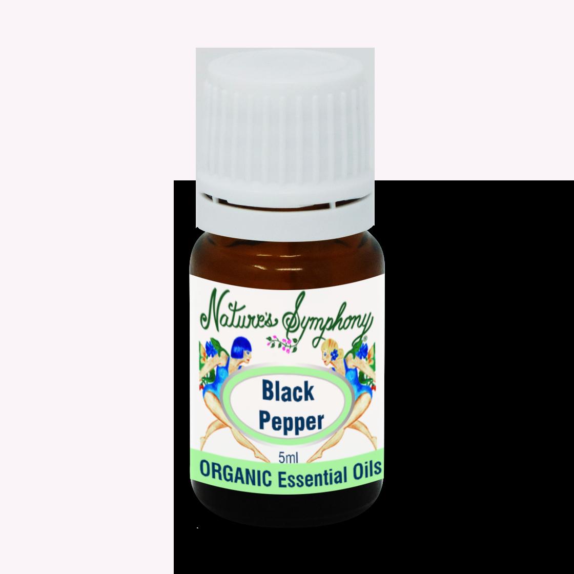 Black Pepper, Organic/Wildcrafted oil - 5ml
