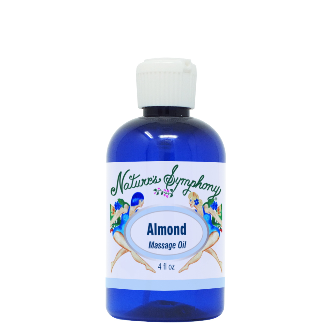 Almond, Unscented Massage Oil - 4 fl. oz. (118ml)