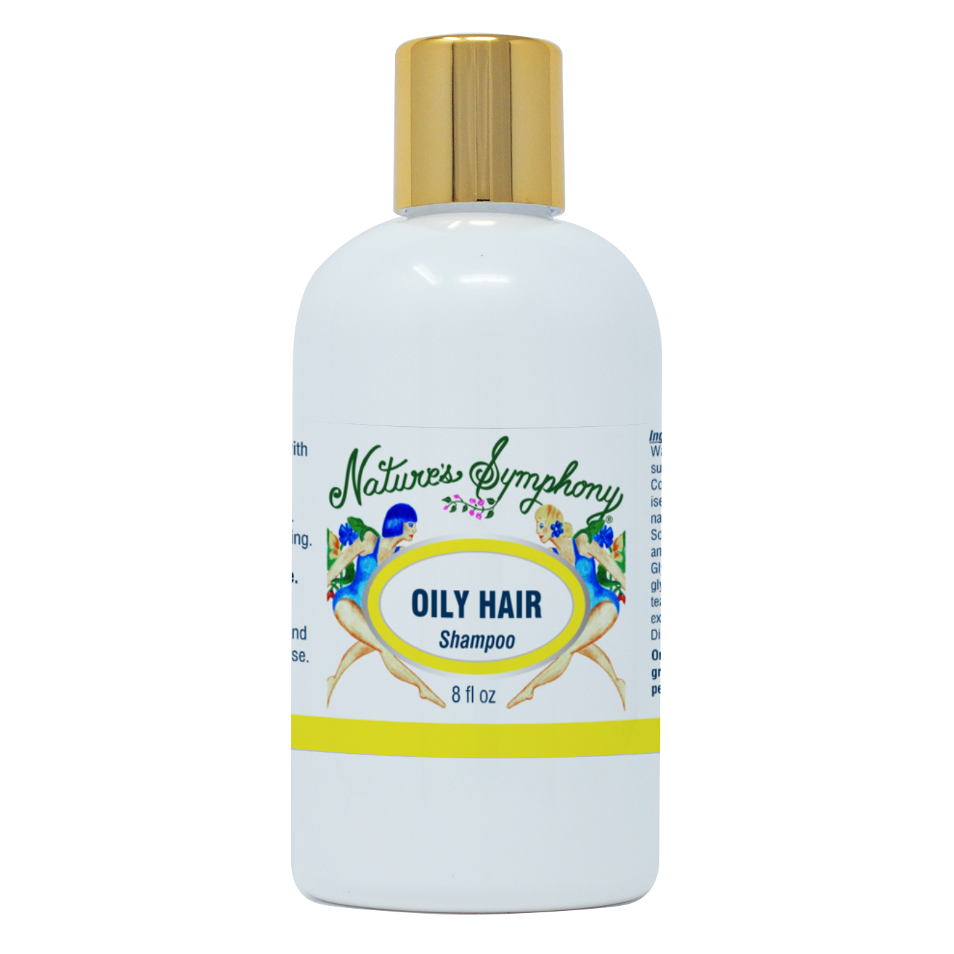 Oily Hair, Organic Shampoo - 8 fl. oz. (236ml)