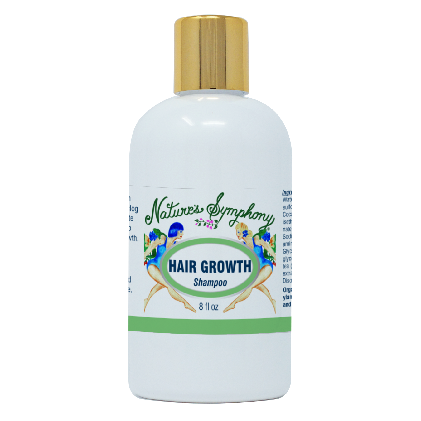 Hair Growth, Organic Shampoo - 8 fl. oz. (236ml)