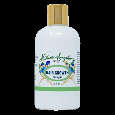 Hair Growth, Organic Shampoo - 8 fl. oz. (236ml)