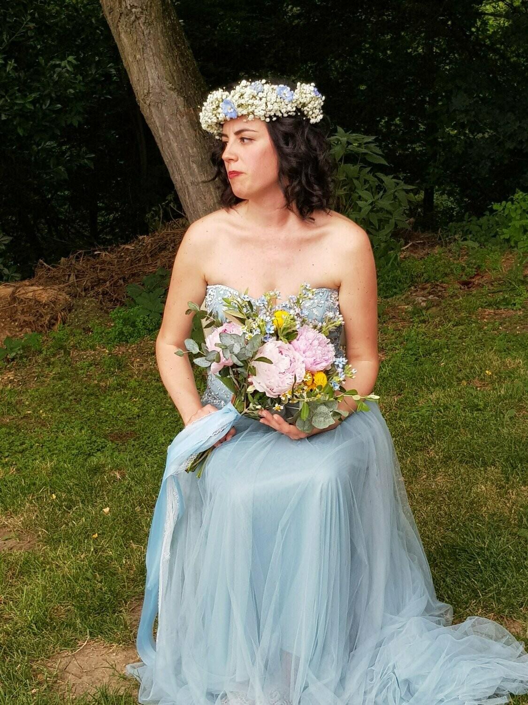 Coroncina sposa Boho