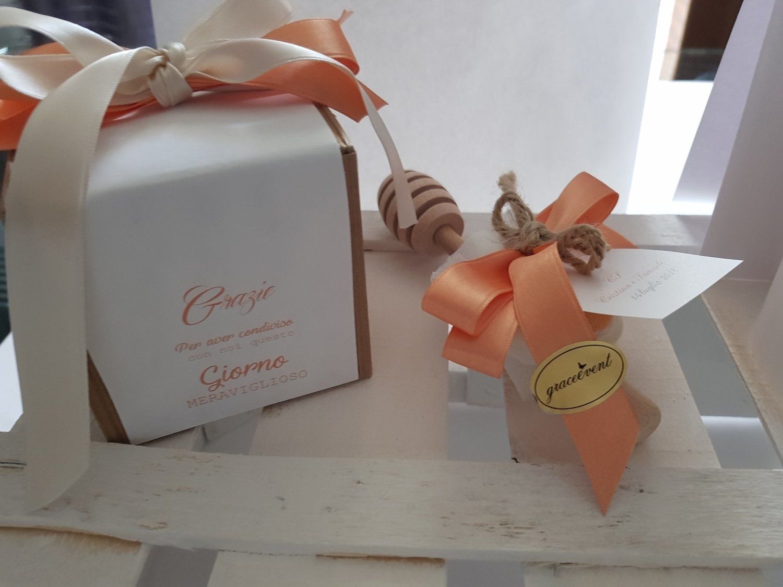 Bomboniera miele   gr120 Luxury