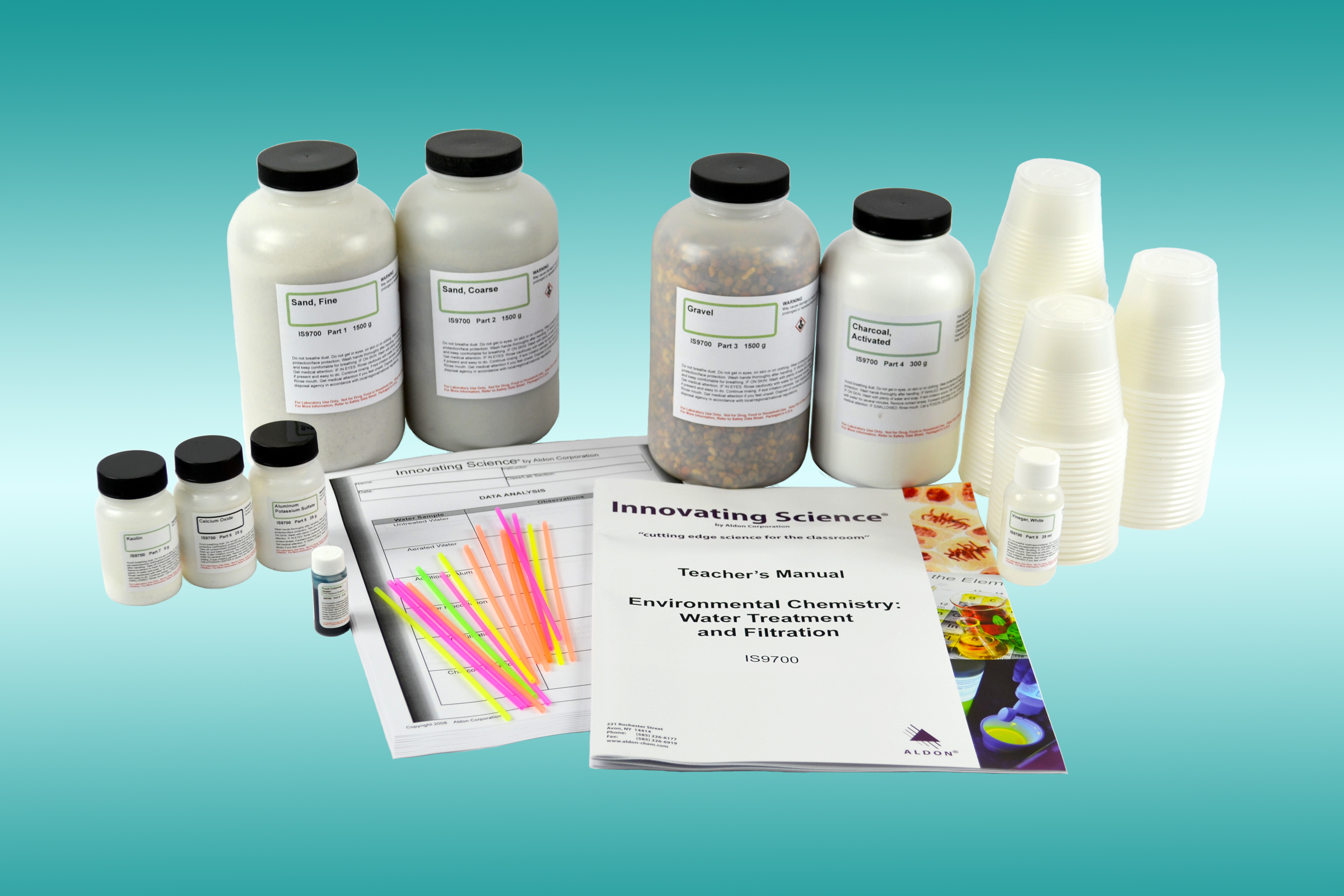 IS9700 Environmental Chemistry: Water Treatment and Filtration