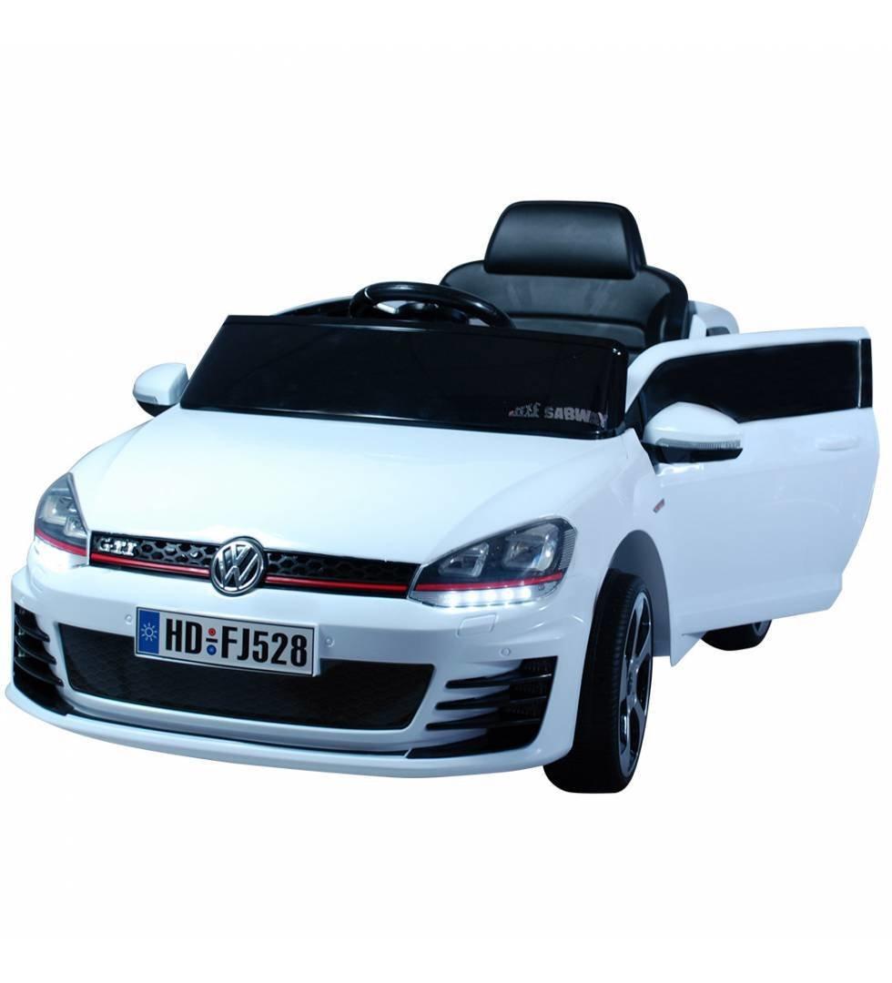 Coche eléctrico niño Golf GTI