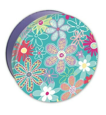 Flower Blossom Candy Tin with 13.5 oz. of Candy - Your Choice and Free Shipping