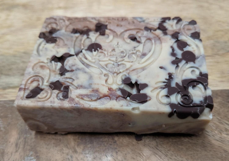 Handmade Chocolate Chip Cookie Dough Fudge