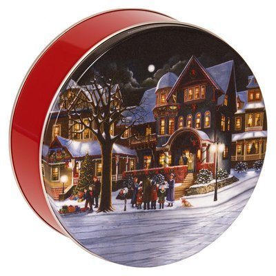 Christmas Carolers Candy Tin with 13.5 oz. of Candy - Your Choice and Free Shipping