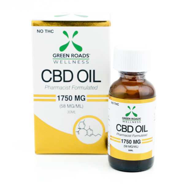 Green Roads CBD OIL 1750 MG