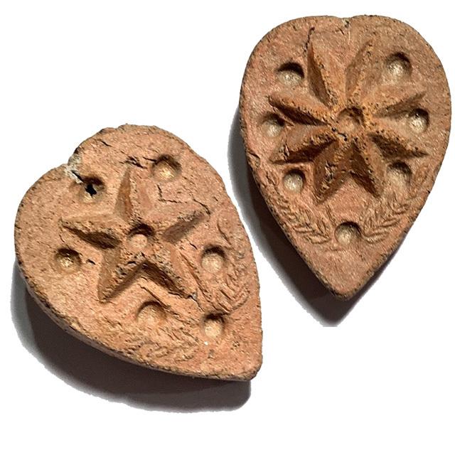 Daw Nai Pan Nai Pon Nuea Pong Aathan Early Era Lucky Star Amulet Luang Por Pina Free EMS Worldwide 03739