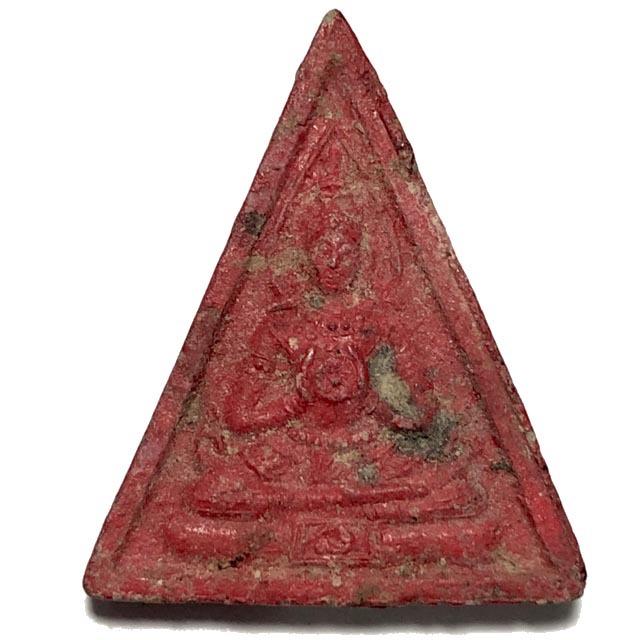 Pra Somdej Paya Bparamadth Pim A-A 2 sided Buddha Amulet Luang Por Pina Wat Sanom Lao Extremely Rare