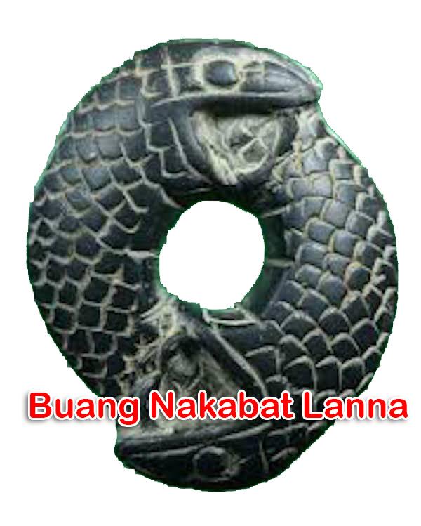 Buang Nakabadtr Lanna Animist Naga Eating Tail Early Era Kroo Ba Wang Wat Ban Den