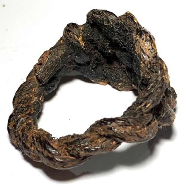Hwaen Pirod Ancient Warrior Ring of Invincibility Circa 2460 BE Luang Por Muang Wat Ban Tuan