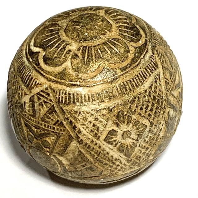 Kot Kala Phueak Pra Rahu Mai Mee Ta Albino Eyeless Coconut Carved Asura Deva Eclipse God Luang Por Pin Wat Srisa Tong