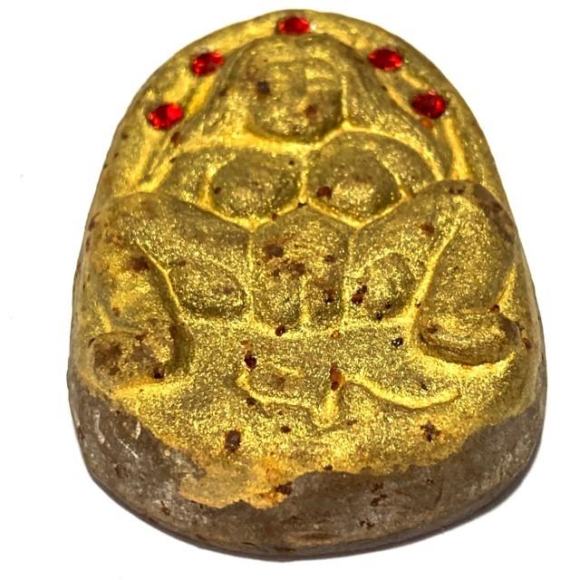 Mae Bper Hlang Baeb Ongk Kroo Pim Jumbo Nuea Pong Asupa Early Era Necromantic Powders 5 Gemstone Inserts Luang Por Pina Free EMS