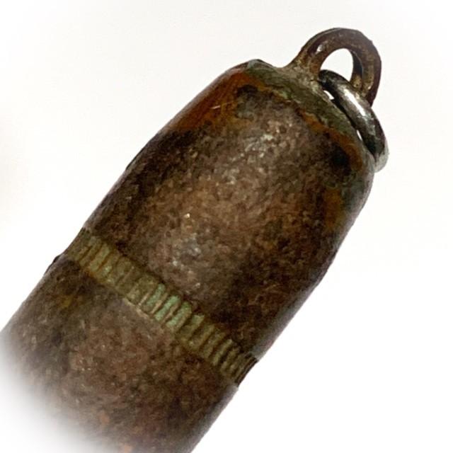 Takrut Look Grasun 9mm Bullet Invincibility Spell 3 Cm Early Era Luang Por Guay Wat Kositaram