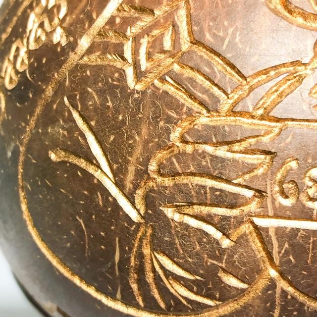 Kala Ta Diaw 1 Eyed Coconut Pra Rahu Pra Sangajjai Yant Na Ok Dtaek & Yant Dto Gemstone Inserts Hand Inscription Luang Por Pina Free EMS