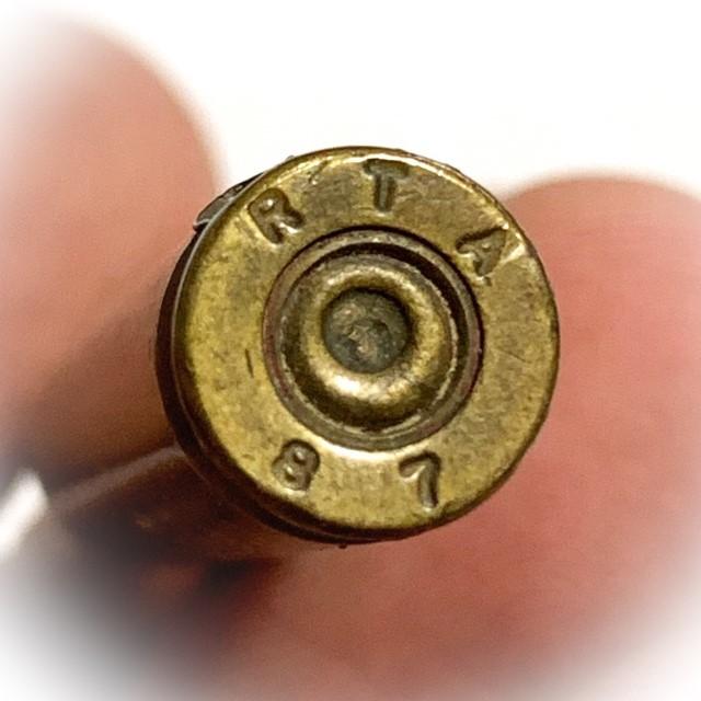 Takrut Look Grasun Yai Bullet Invincibility Spell 5.5 Cm Early Era Luang Por Guay Wat Kositaram