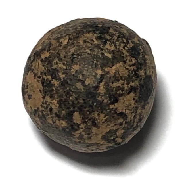 Look Om Nuea Pong Ittijae Jum Rak Sacred Powder Wishing Ball Amulet Luang Por Tong Sukh Wat Sapan Sung
