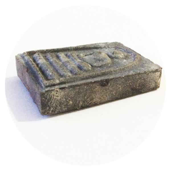 Pra Somdej Pae 5000 Edition 2534 BE - Ongk Kroo 3 Takrut (3K) Black Powders - Luang Por Pae Wat Pikul Tong (Singhburi) Free Casing