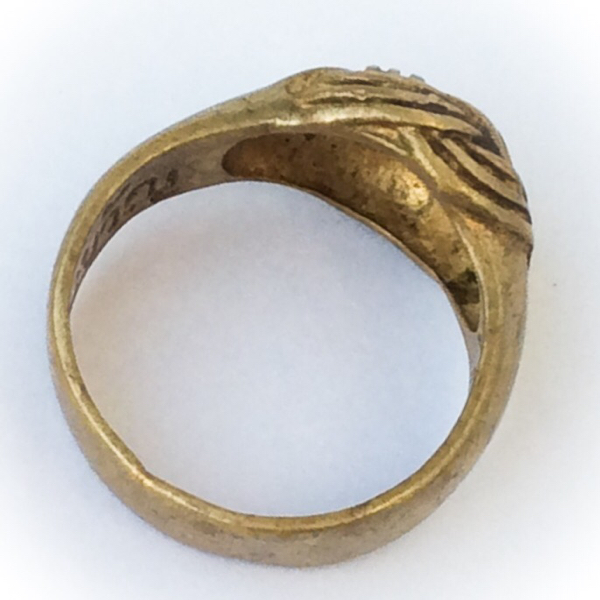 Hwaen Pra Pirord (Hwaen Dtakror) Magic Ring of Protection and Power Ancient Amulet - Luang Por Khwan Wat Ban Rai 02569