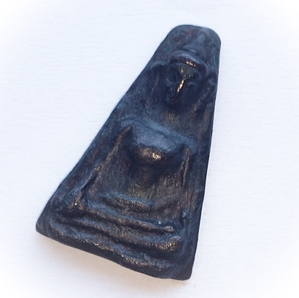 Pra Pong Supan - Alchemical Maekasit Metal 400 years Anniversary - Wat Rang Bua Tong (Supannburi) 2535 BE 02597
